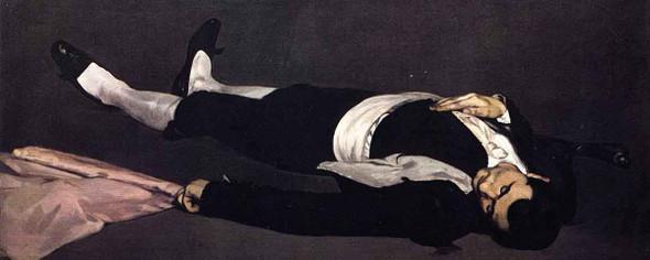 The Dead Toreador By Edouard Manet
