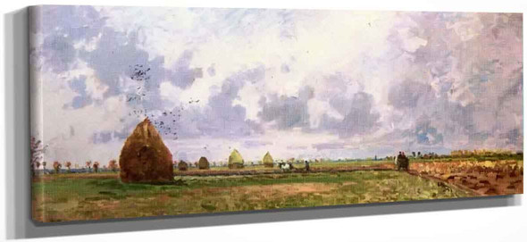 The Four Seasons Autumn By Camille Pissarro
