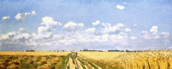 The Four Seasons Summer By Camille Pissarro