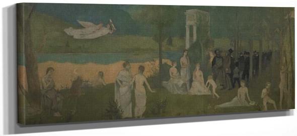 The Secret Grove By Henri De Toulouse Lautrec