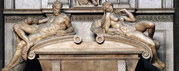 Twilight And Dawn By Michelangelo Buonarroti By Michelangelo Buonarroti