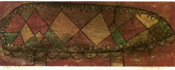 Upholstered Seat By Paul Klee