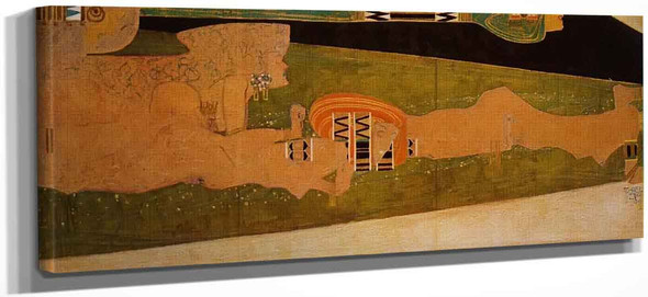 Water Sprites Ii By Egon Schiele