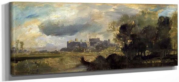Windsor Castle From The Meadows By Joseph Mallord William Turner