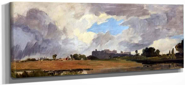 Windsor From Lower Hope By Joseph Mallord William Turner