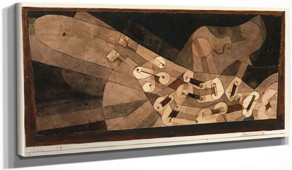Aeolian Harp By Paul Klee