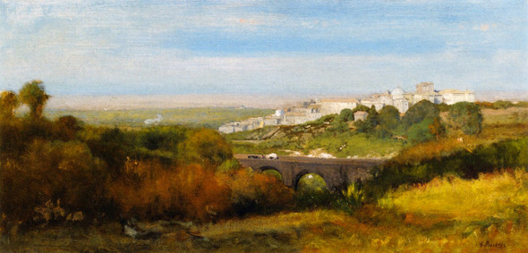 Albano, Italy By George Inness By George Inness