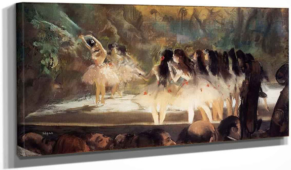 Ballet At The Paris Opers By Edgar Degas
