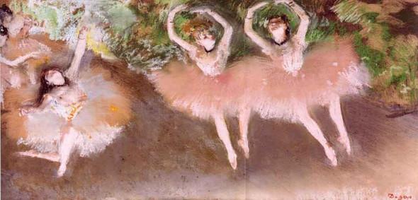 Ballet Scene1 By Edgar Degas
