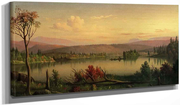 Blue Mountain Lake By Levi Wells Prentice By Levi Wells Prentice