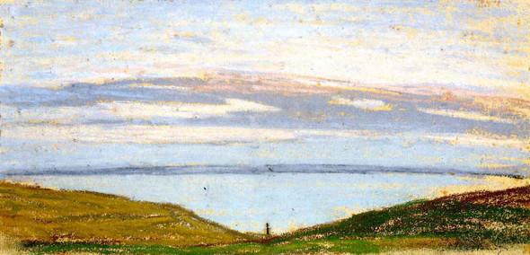 Broad Landscape By Claude Oscar Monet