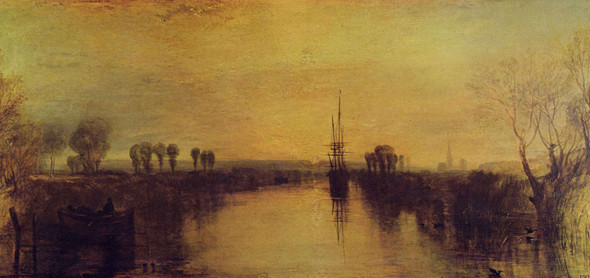 Chichester Canal1 By Joseph Mallord William Turner