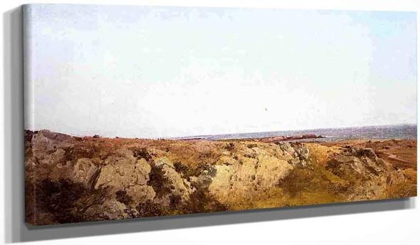 Coast Scene By John Frederick Kensett By John Frederick Kensett