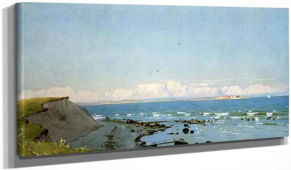 Coastal Scene, Cuttybunk, Massachusetts By William Trost Richards By William Trost Richards