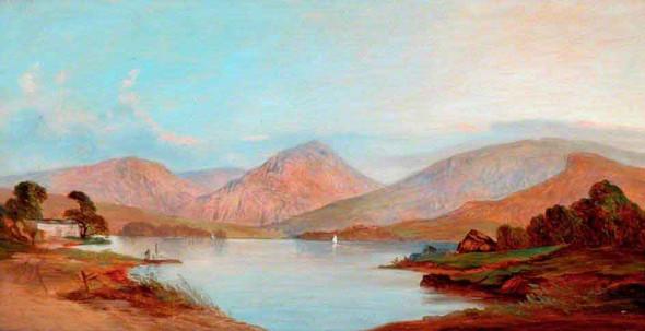 Derwentwater By James Baker Pyne
