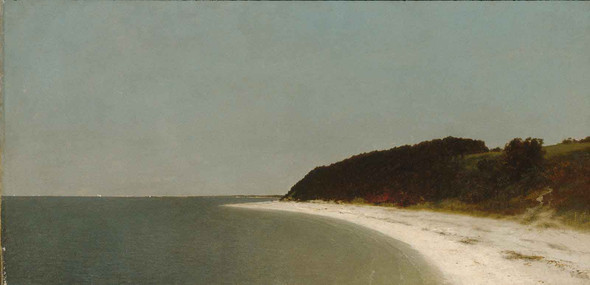 Eatons Neck Long Island by John Frederick Kensett