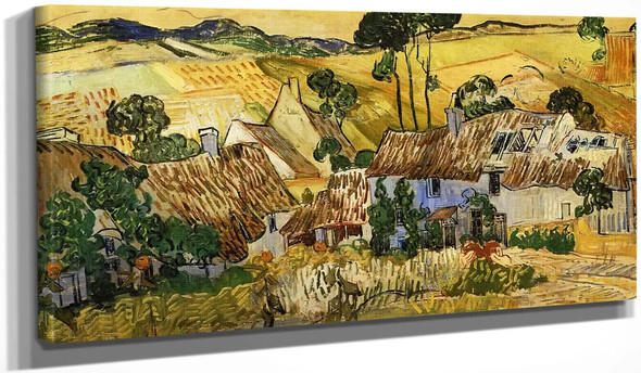 Farms Near Auvers By Vincent Van Gogh