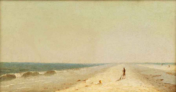Fire Island Beach 2 By Sanford Robinson Gifford