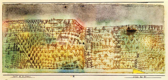 Forest In G By Paul Klee