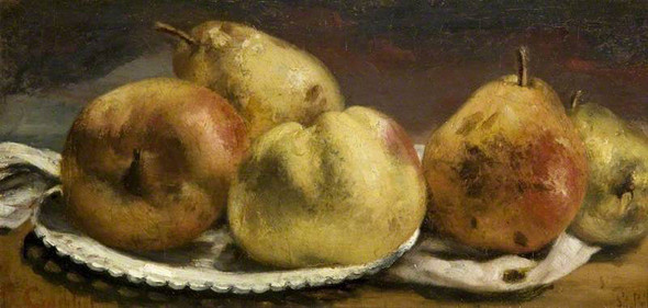 Fruit By Gustave Courbet