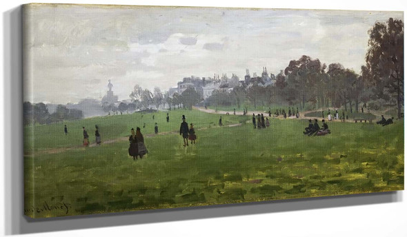 Green Park, London By Claude Oscar Monet