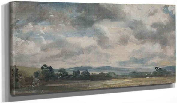 Harnham Ridge, Salisbury By John Constable By John Constable