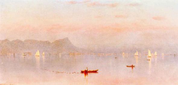 Haverstraw Bay By Sanford Robinson Gifford