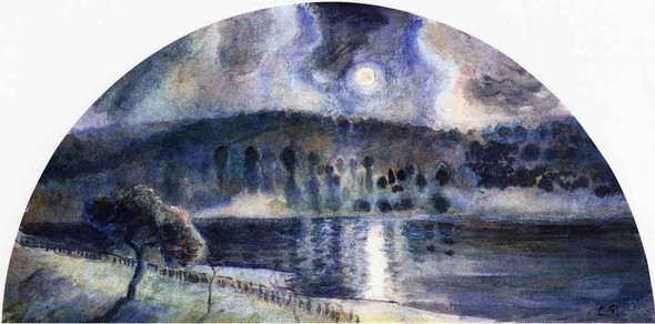 Landscape4 By Camille Pissarro
