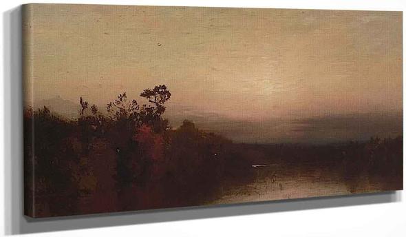 Landscape By John Frederick Kensett By John Frederick Kensett