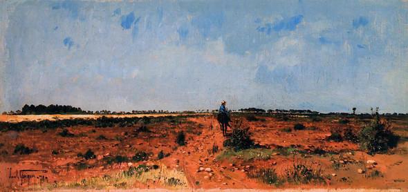 Landscape By Paul Camille Guigou
