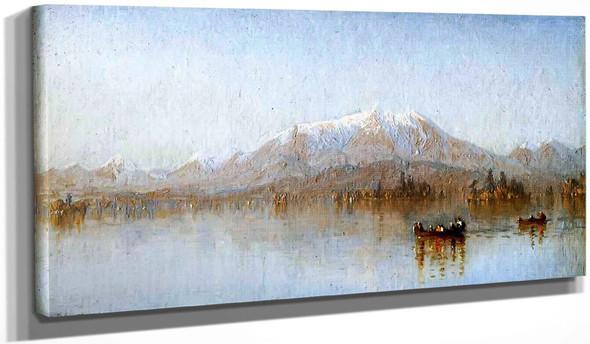 Mount Katahdin From Lake Millinocket By Sanford Robinson Gifford