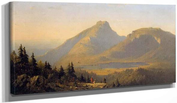 Mount Mansfield, Vermont By Sanford Robinson Gifford