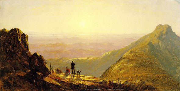 Mount Mansfield By Sanford Robinson Gifford