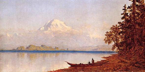 Mount Ranier, Washington Territory By Sanford Robinson Gifford