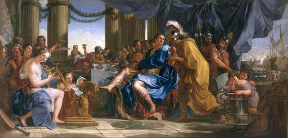 Nero Ordering The Murder Of His Mother By Noel Coypel I