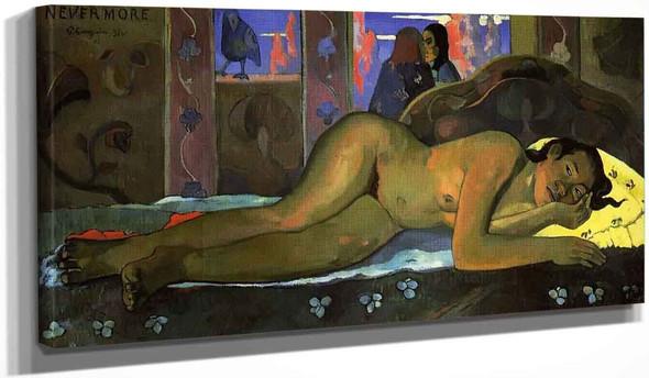 Nevermore, Oh Tahiti By Paul Gauguin