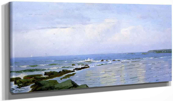 Ocean, Sky, Horizon By William Trost Richards By William Trost Richards