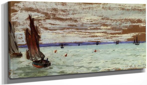 Open Sea By Claude Oscar Monet