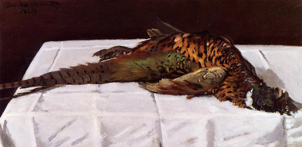 Pheasant By Claude Oscar Monet