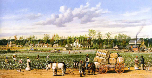 Plantation Economy By William Aiken Walker