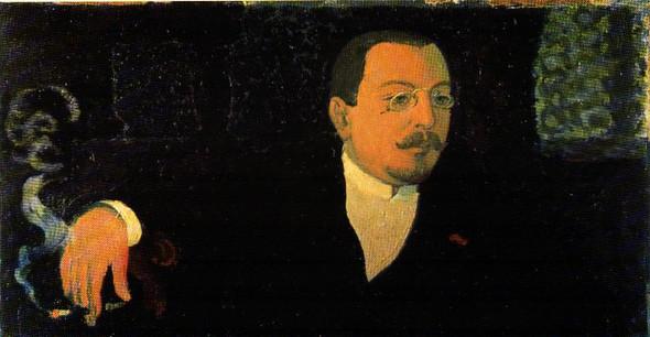 Portrait Of Monsieur Huc By Maurice Denis