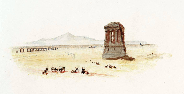 Rogers's 'Italy' Campagna Of Rome By Joseph Mallord William Turner