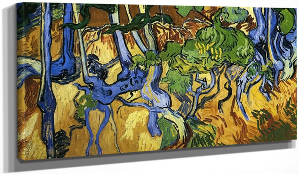Roots And Tree Trunks By Jose Maria Velasco
