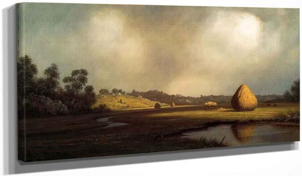 Salt Marshes, Newburyport, Massachusetts By Martin Johnson Heade