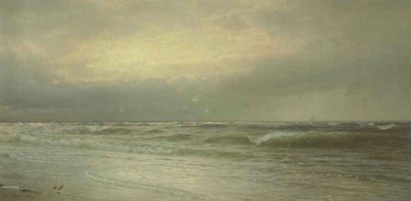 Seascape6 By William Trost Richards By William Trost Richards