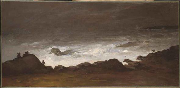 Seascape By William Morris Hunt