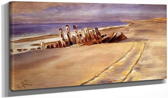 Shipwreck At Skagen North Beach By Peder Severin Kroyer