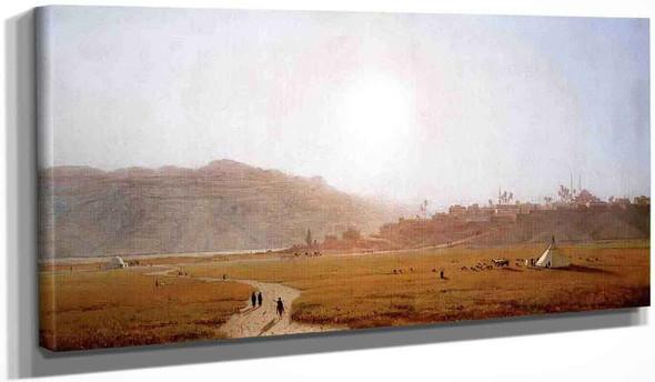 Siout, Egypt By Sanford Robinson Gifford