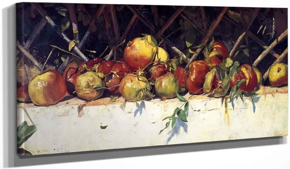 Still Life With Pomegranates By Tom Roberts