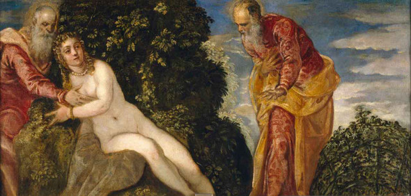 Susannah And The Elders By Jacopo Tintoretto
